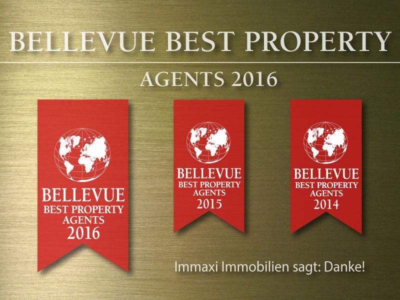 Immobilienmakler Auszeichnung Immaxi