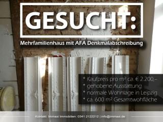 Mehrfamilienhaus mit AFA