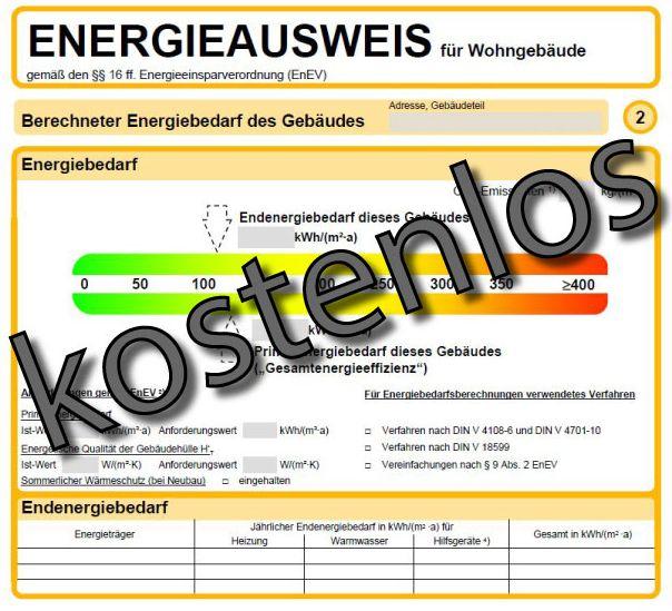 Energieausweis Kostenlos Fur Immobilienverkauf Mit Immaxi Immaxi