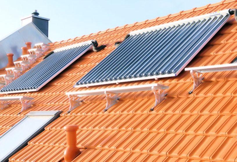 Erstbezug Leipzig Referenzbild Solaranlage