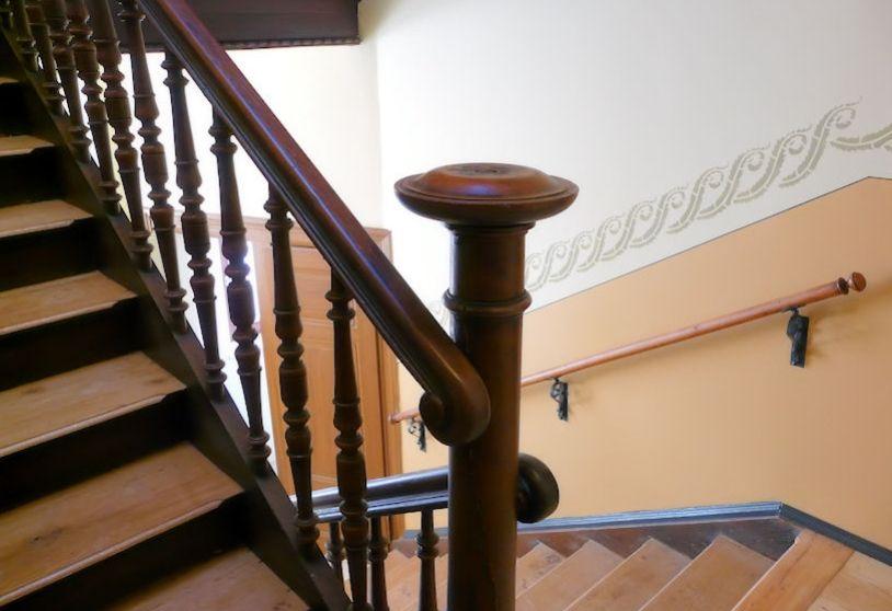 Erstbezug Referenz Treppenhaus