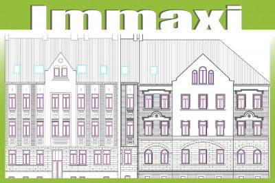 Hausansicht Mehrfamilienhaus Kauf Leipzig